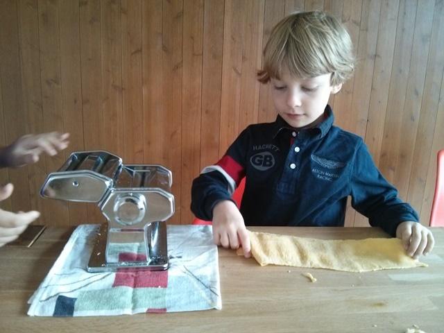 fabriquons des pasta