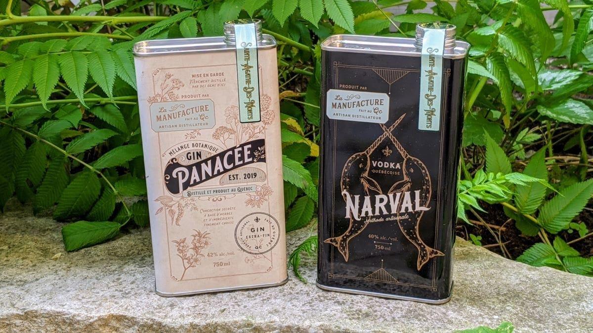 Gin Panacée et Vodka Narval