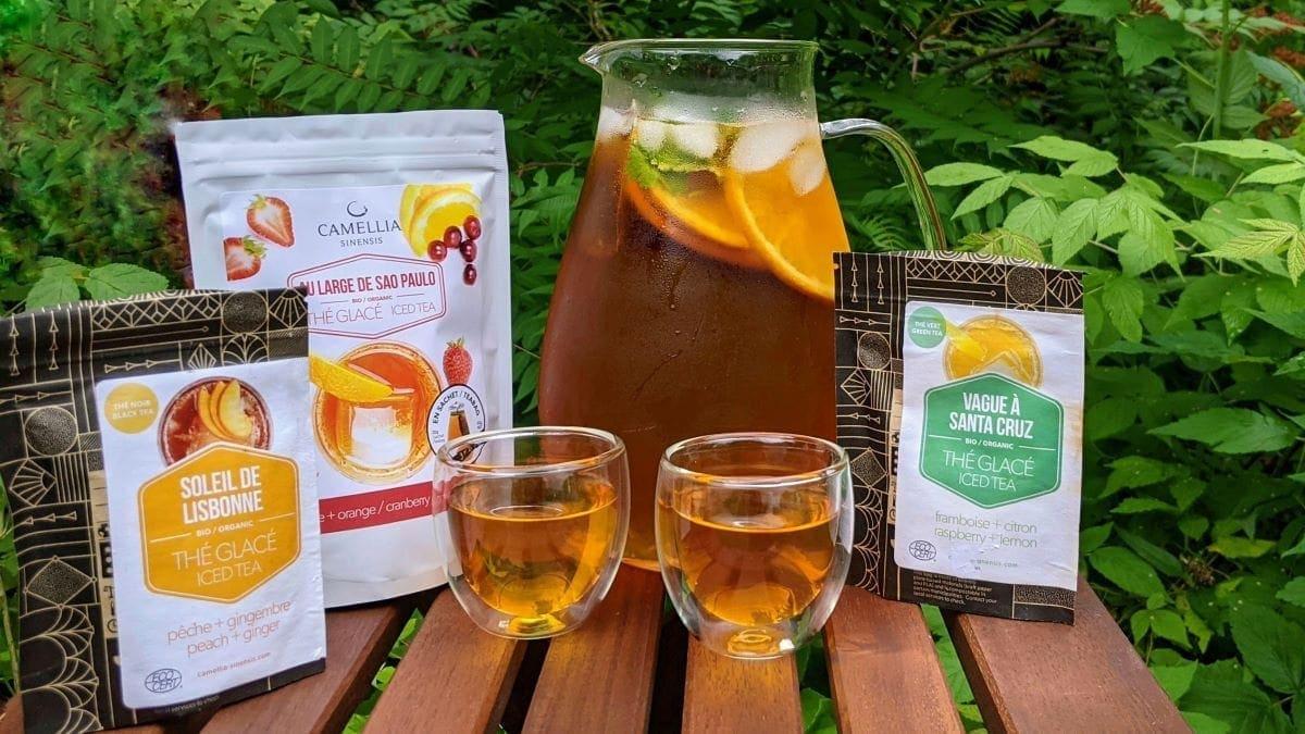 Gamme estivale thé Camellia Sinensis